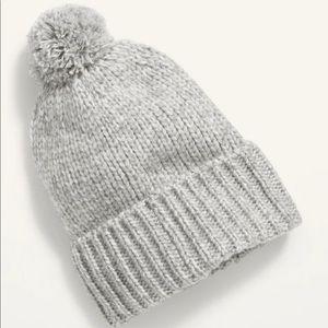 Cozy Pompom Sweater Beanie